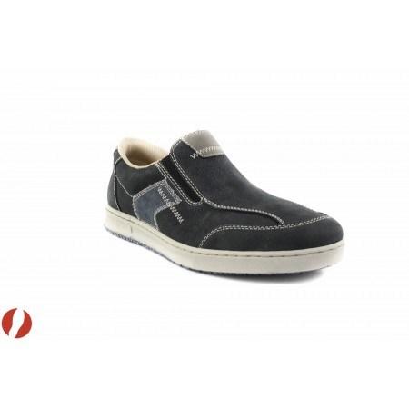Мъжки обувки мокасини сини Rieker 306215