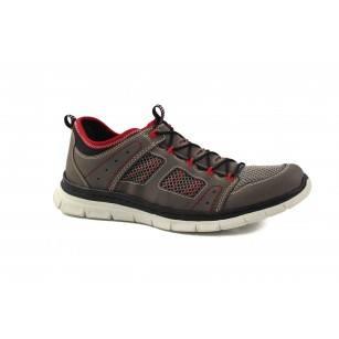 Мъжки маратонки без връзки Rieker Memosoft сиви 488346