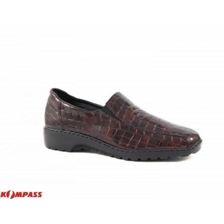 Дамски лачени обувки на равно ходило Rieker 607026