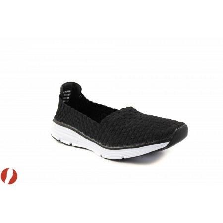 Дамски спортни маратонки без връзки S.Oliver черни 24609001