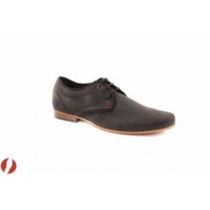 Mъжки кожени обувки кафе S.Oliver 13205304
