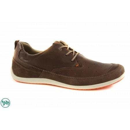 Мъжки спортни обувки с връзки Salamander кафяви 6520104