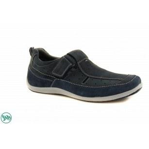 Mъжки спортни обувки с лепки Salamander сини 6520312