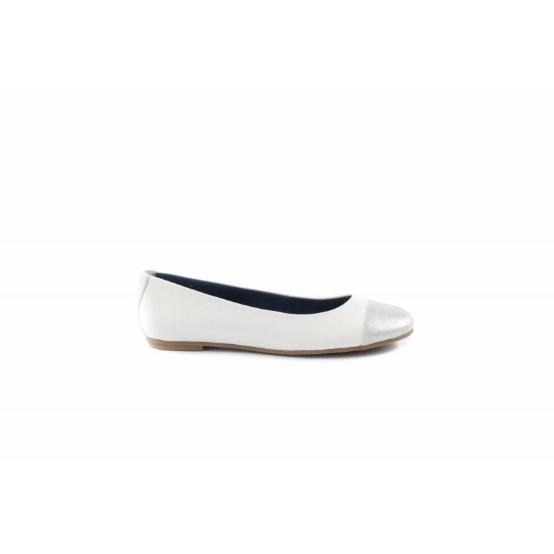 Дамски обувки балерина бели Tamaris 22114195