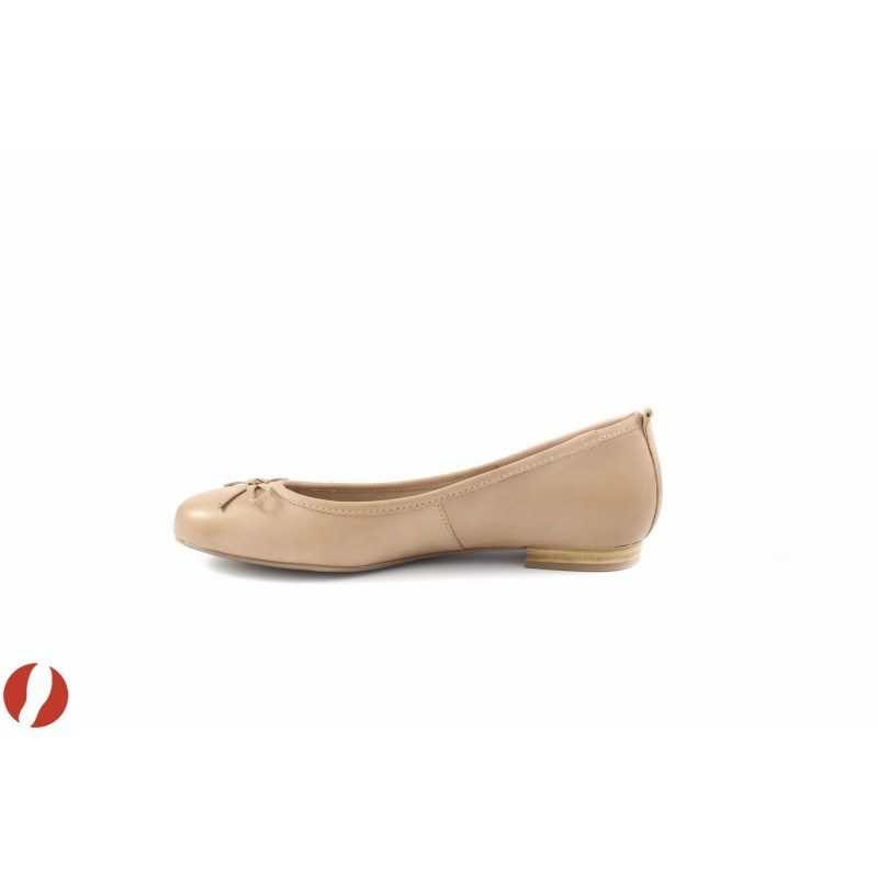 Дамски обувки балерина бежови Tamaris 22122250