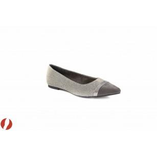 Дамски обувки балерина сребристи Tamaris 22133972