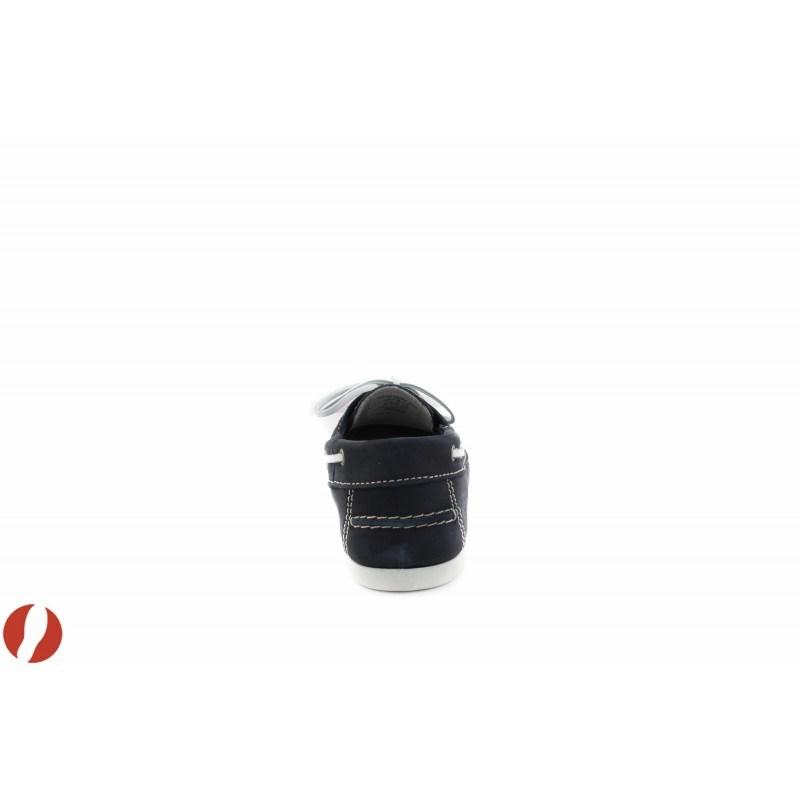 Дамски кожени мокасини сини Tamaris 23618805