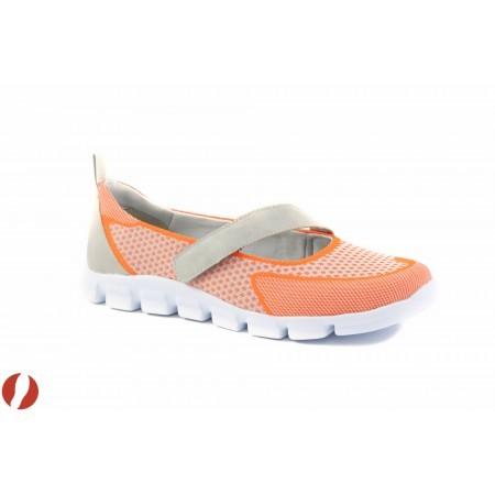 Дамски спортни маратонки без връзки Tamaris оранжеви 24701607
