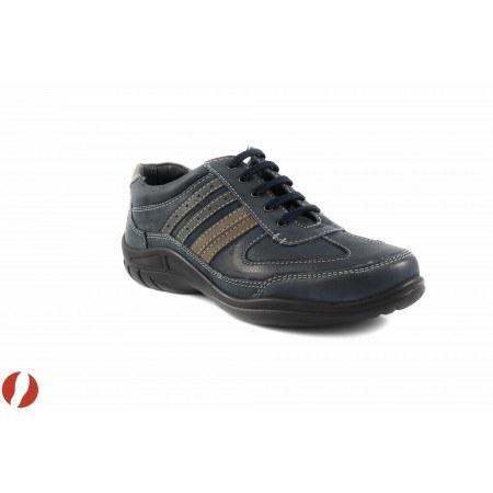 Мъжки обувки с връзки сини Ara 1701108