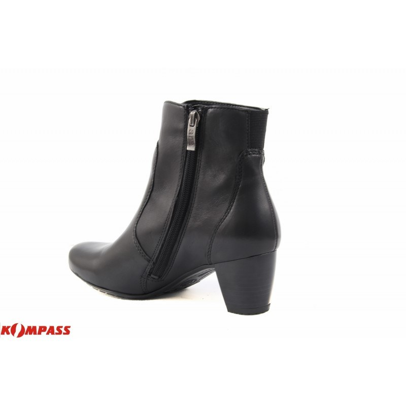 Дамски кожени боти на ток Ara черни 4205971