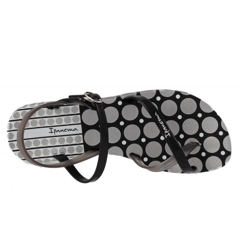 Дамски сандали равни Ipanema черни FASHION SAND