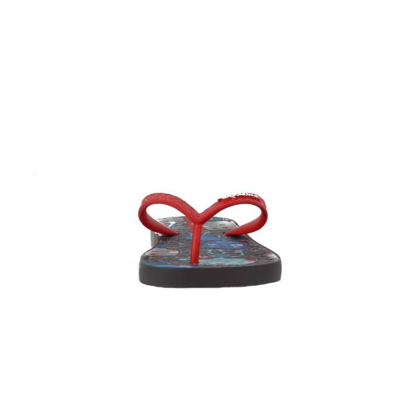 Детски джапанки Ipanema сиви/червени CLASSIC 25-34