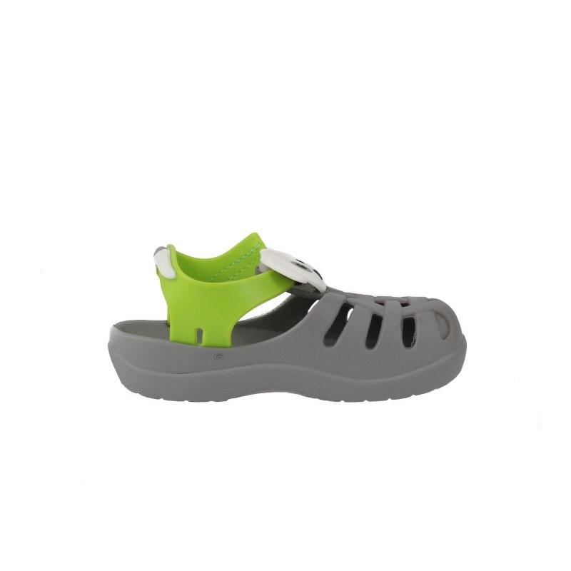 Детски затворени сандали Ipanema SUMMER сиви/зелени 19-29