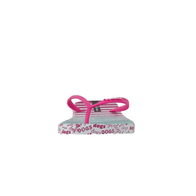 Дамски джапанки Ipanema бели/розови UNIQUE