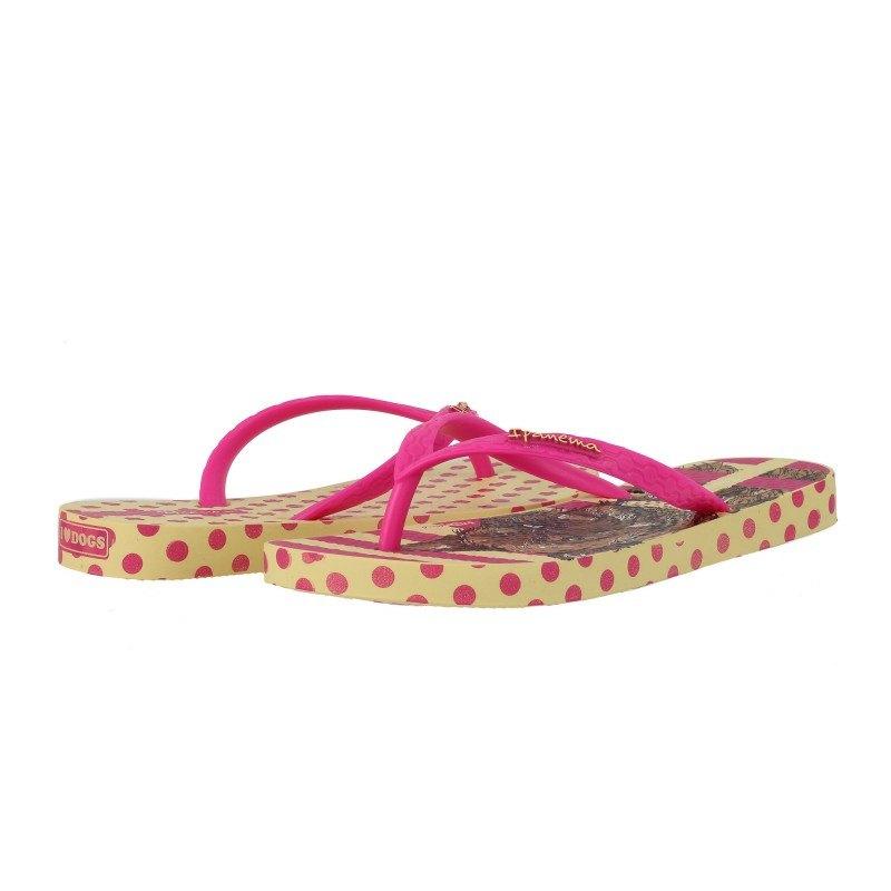 Детски джапанки Ipanema жълто/розови момиче UNIQUE 25-36