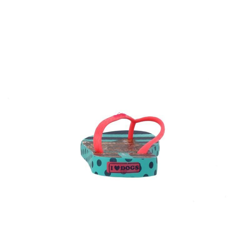 Детски джапанки Ipanema розови/зелени момиче UNIQUE 25-36
