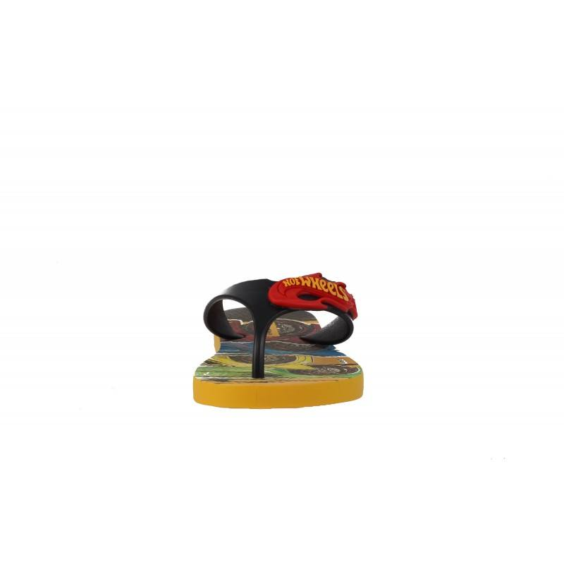 Детски джапанки Hot Wheels жълти 25-34