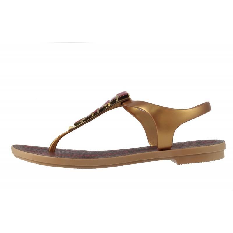 Дамски равни сандали Grendha JEWEL златисти