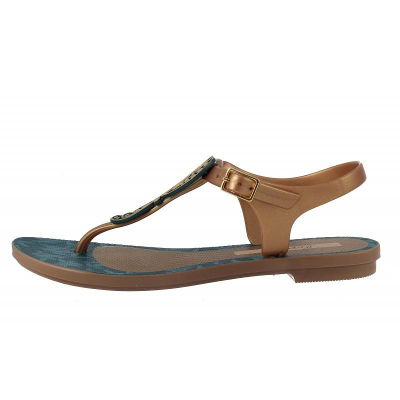 Дамски равни сандали Grendha GRACE златисти