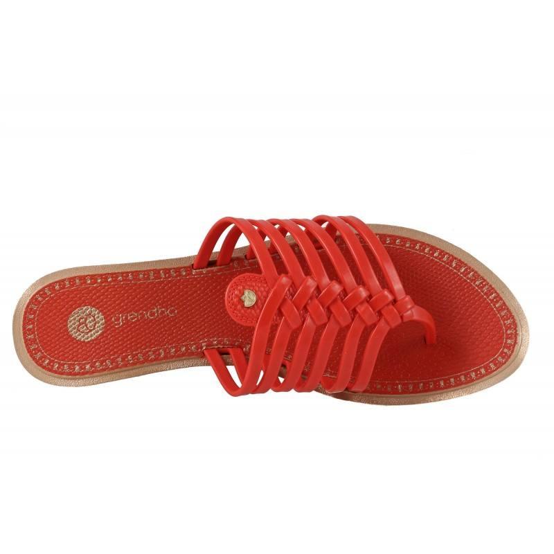 Дамски чехли Grendha STRINGS червени