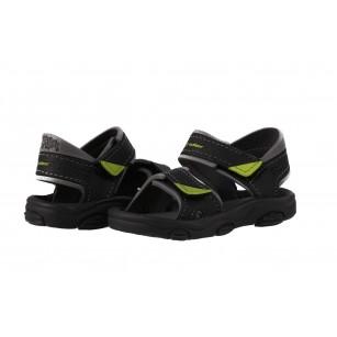 Детски сандали Rider черно/зелени RS 19-29
