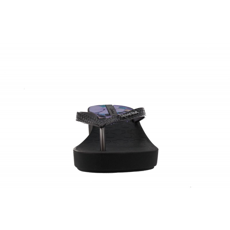 Дамски джапанки на платформа Ipanema черни ART DECO