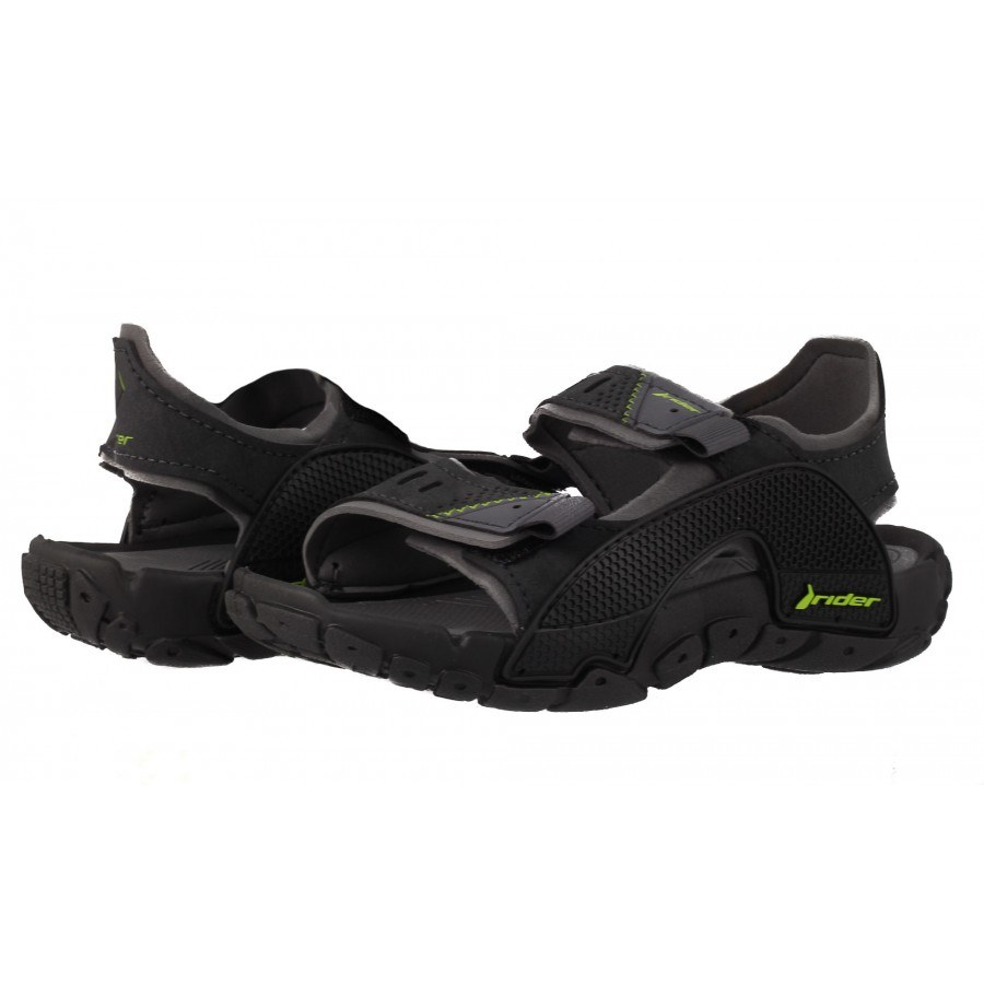 Детски сандали Rider черно/сиви TENDER 31-38
