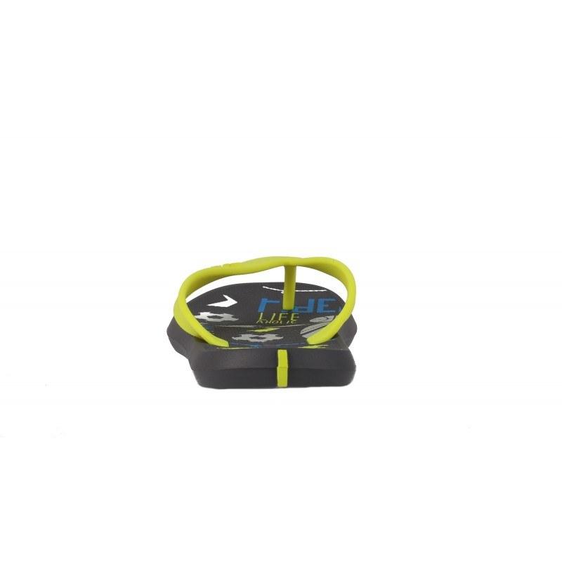 Детски джапанки Rider черен/зелен ENERGY 31-38