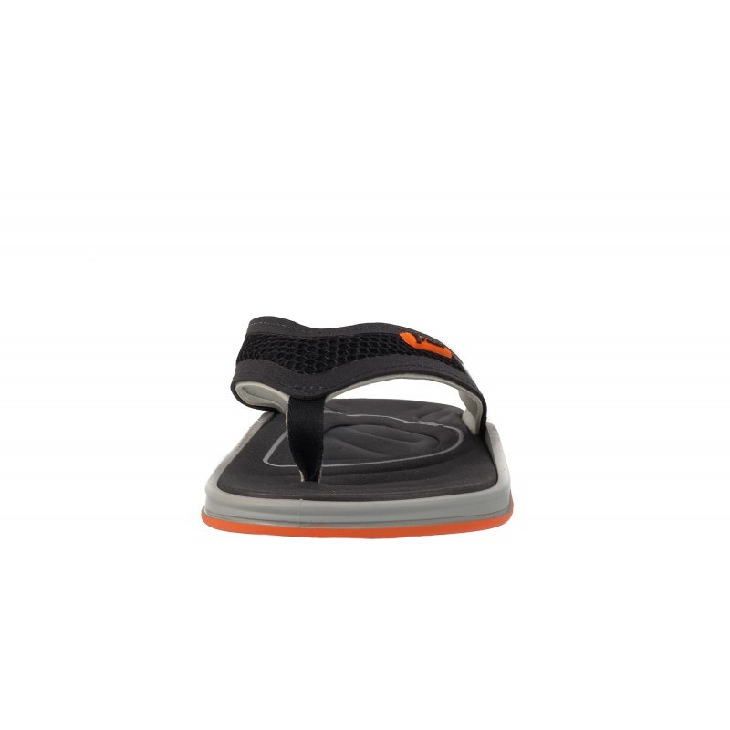 Мъжки джапанки Rider черно/оранжеви VENTOR