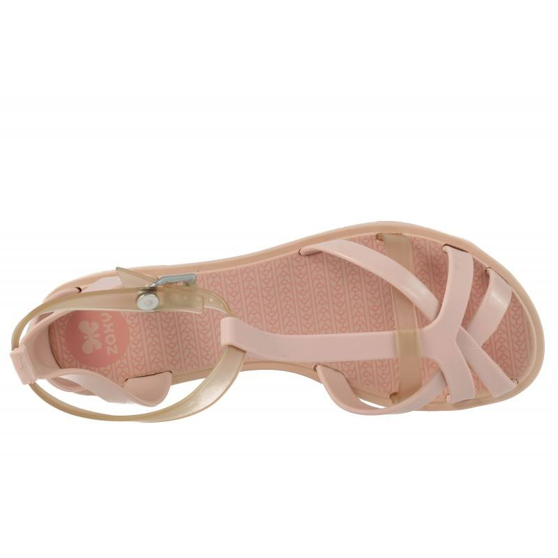 Дамски равни сандали Zaxy FROZEN розови
