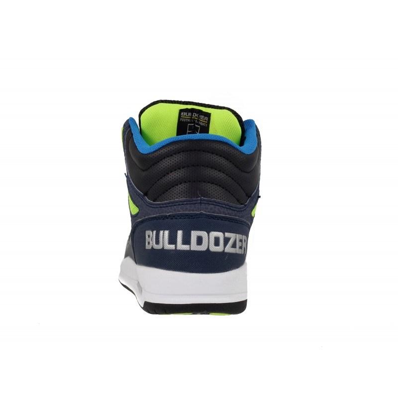 Мъжки/юношески кецове с връзки Bulldozer черни/сини