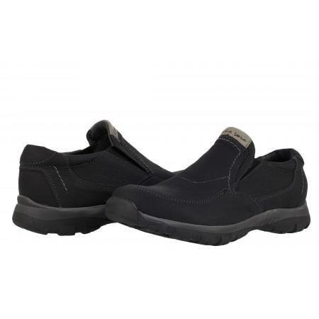 Мъжки обувки от естествена кожа черни 83317001