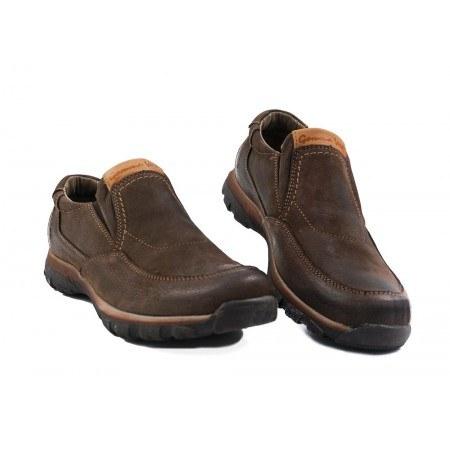 Мъжки обувки от естествена кожа кафяви 83317324