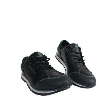 Мъжки спортни обувки с връзки черни 83328001