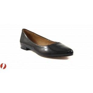 Дамски обувки балерина черни Caprice 22107018 sacchetto