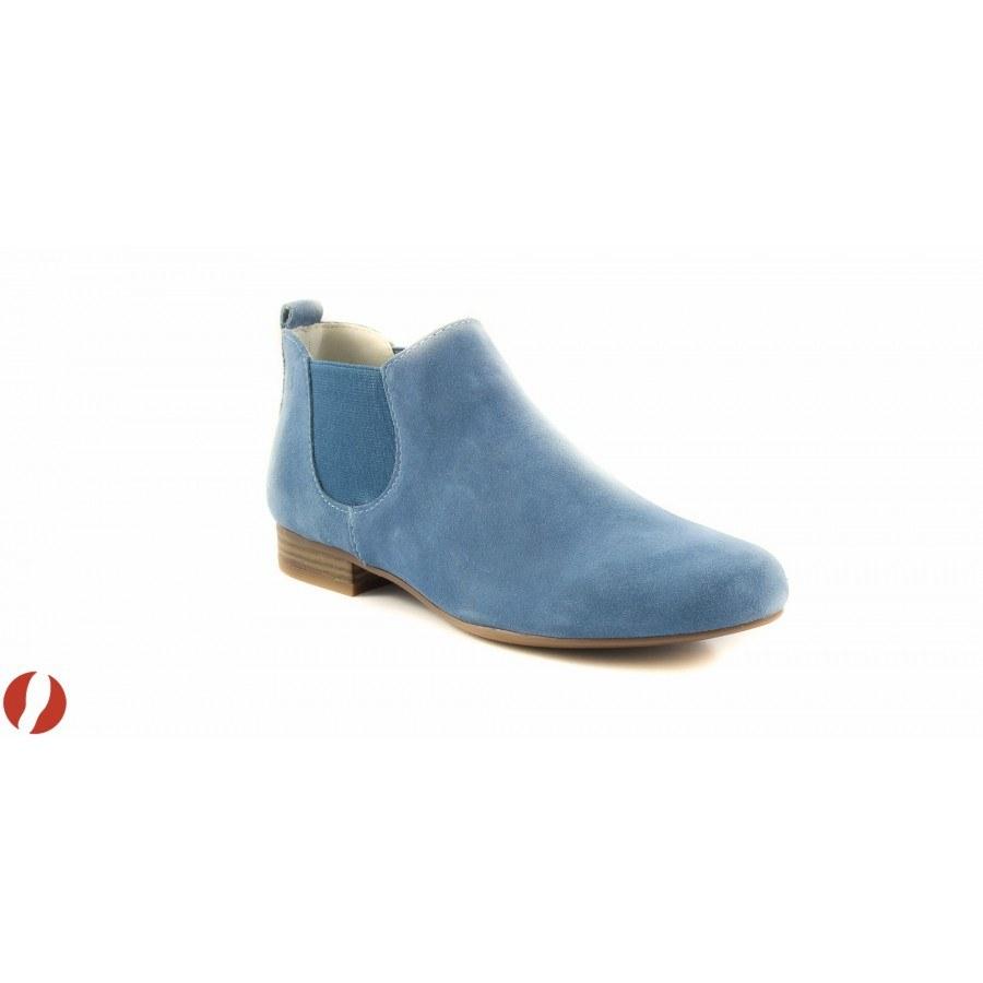 601031208c3 ✓ Дамски пролетни боти светло сини Caprice 25300841 — Компас