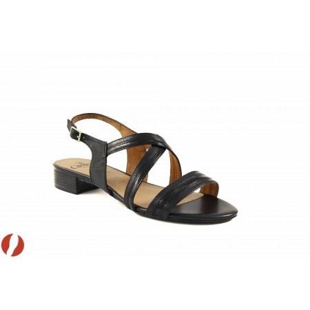 Дамски сандали на нисък ток Caprice черни 28118098