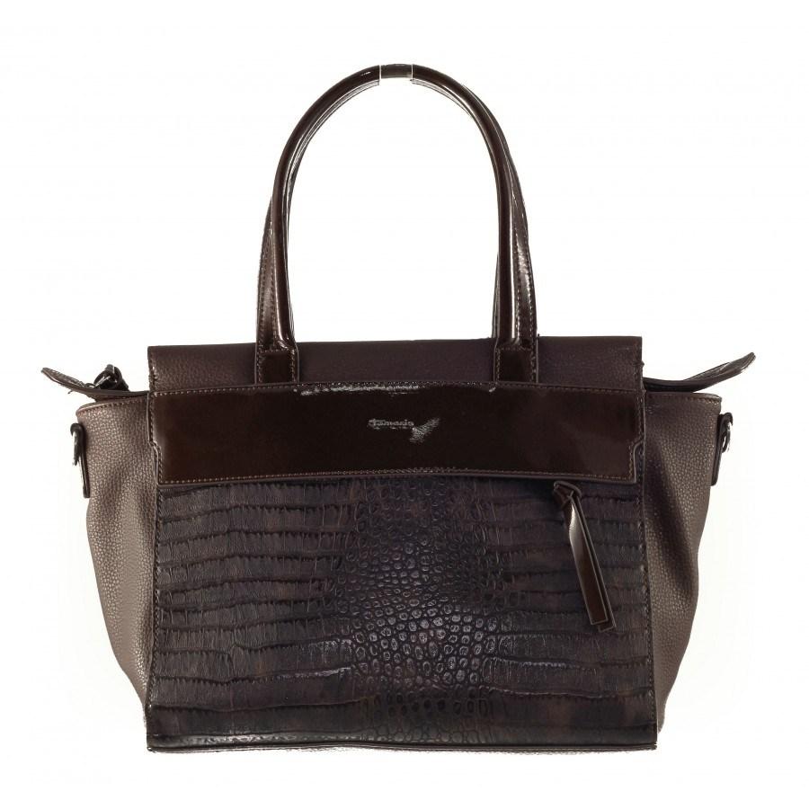 Дамска средна чанта Tamaris мока