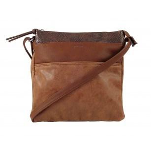 Дамска средна чанта Tamaris табако