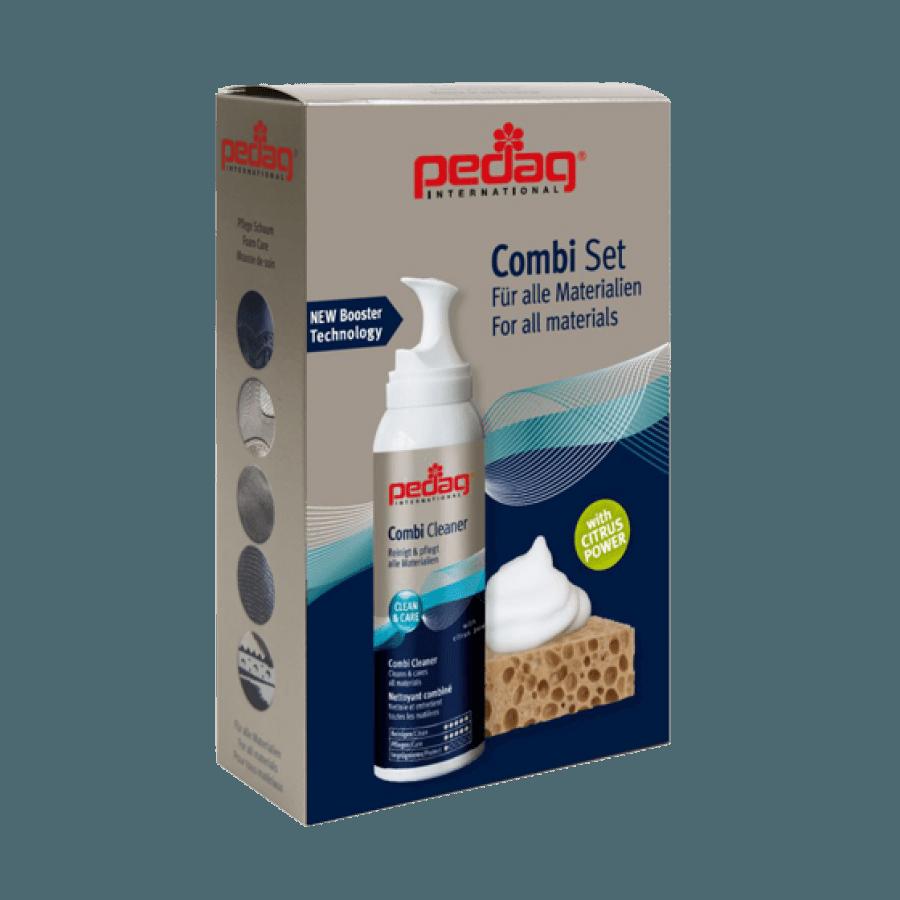 Почистваща спрей пяна и гъба за нанасяне комплект PEDAG
