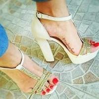 Популярни дамски сандали в Instagram