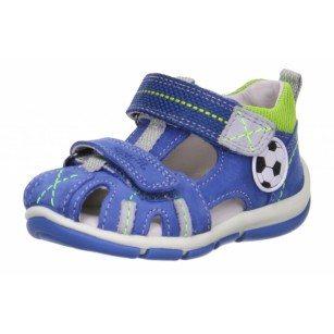 Детски затворени сандали за момиче Superft® - Австрия сини