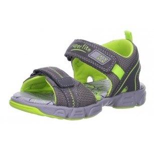 Детски анатомични сандали за момче Superft® - Австрия сиви