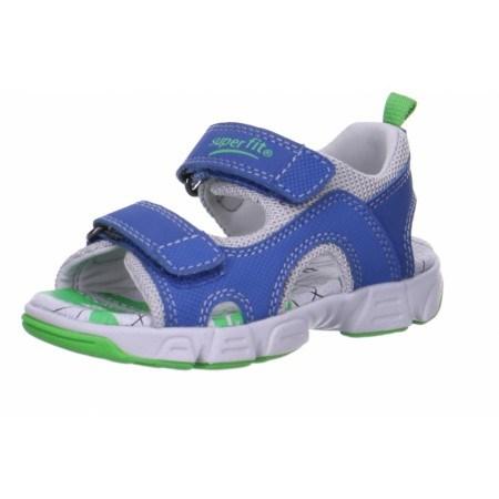 Детски анатомични сандали за момче Superft® - Австрия сини