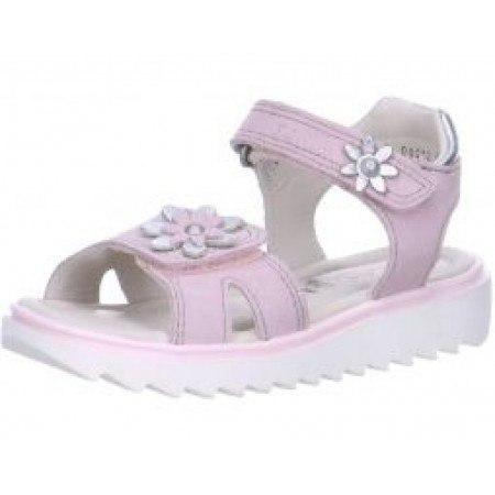 Кожени детски сандали за момиче Superfit Extralight розови