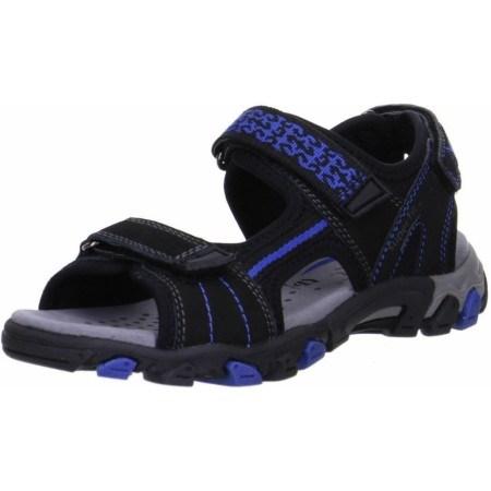 Анатомични сандали с лепки Superfit - Австрия черни