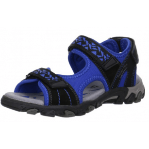 Анатомични сандали с лепки Superfit - Австрия сини